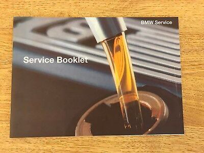 BMW SERVICE HISTORY BOOK BRAND NEW  GENUINE FOR ALL PETROL AND DIESEL MODELS