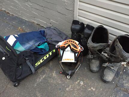 Motocross Gear & Bag