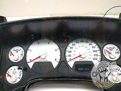 2006 Dodge Ram 2500 3500 Diesel Instrument Cluster Speedometer 200K 56049834AI