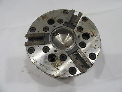 Hardinge 6 Sure-grip Power 3 Jaw Chuck 6000 Rpm Cnc Cm2-306c-5 Mounting A2-5