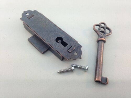 Narrow Flush Mount Cabinet Door Key And Lock Set Ebay