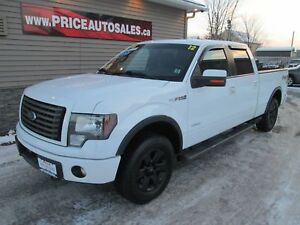 2012 Ford F-150 FX4 - HEATED/COOLED LEATHER - SUNROOF!!!