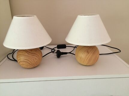 4 x Small table lamps - suit children's room