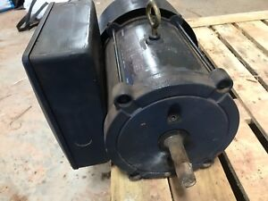 GE 2 hp heavy duty motor
