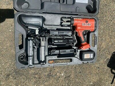 Ridgid Rp 210 Press Tool With Press Frames Kit