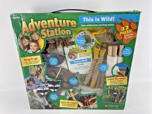 NEW Brand 44 ADVENTURE STATION Wilderness Survival Skills Ages 8+ RARE! HTF!