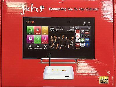New Latest Model Jadoo Tv 4 Android Quad Core Indo Pak Bangla Free Tv Iptv Box