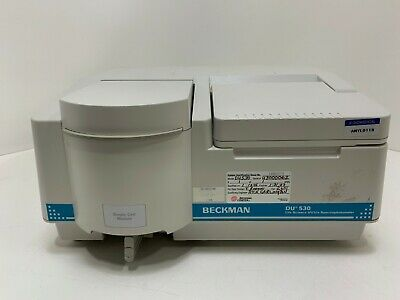 Beckman Du 530 Uv Vis Spectrophotometer Du530