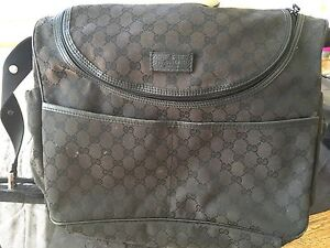 Gucci black nappy bag authentic Maroubra Eastern Suburbs Preview