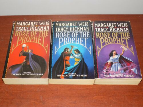 Rose of the Prophet #1-3 PB by Margaret Weis and Tracy Hickman COMPLETE lot
