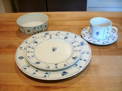 BLOCK SPAL BLUE FIELDS 10 PIECE DINNERWARE SET