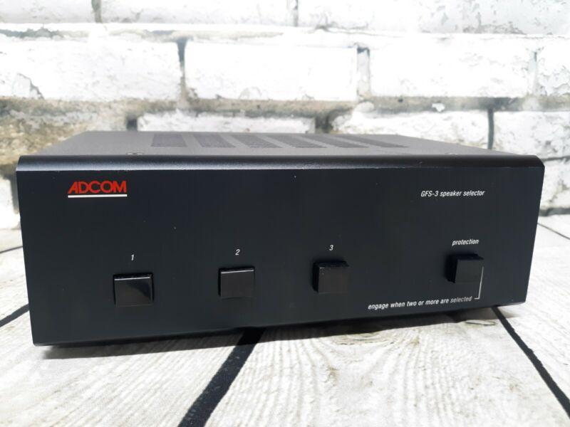 ADCOM Model GFS-3 speaker selector