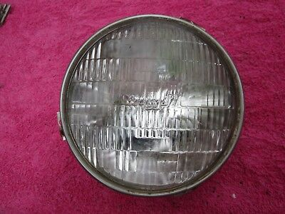 57 MERCURY RIGHT PASSENGER SINGLE HEADLIGHT HOUSING RETAINING RING 1957