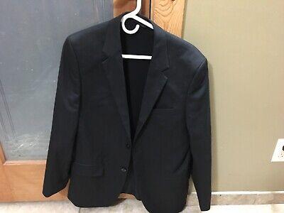 Nice! Men's Marc Anthony Slim-Fit Black Stretch Suit Jacket 40R