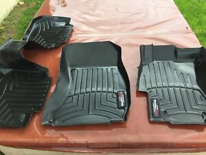 Weather tech front and back mats