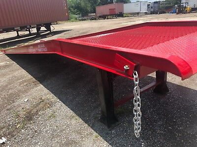 New - Yard Ramp Yard Dock Trailer Loading Dock Forklift Ramp 82.5 Wide