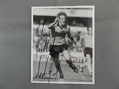 """HAND SIGNED 5"""" x 4"""" PHOTO - ANDY GRAY - WOLVES"""