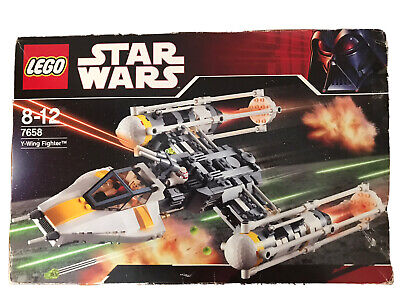 LEGO Star Wars Y-Wing Fighter (7658). Box And Instructions included.