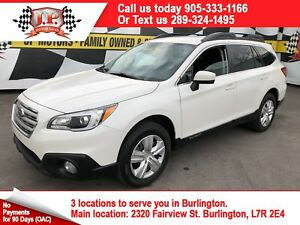 2017 Subaru Outback 2.5i, Automatic, Back Up Camera, AWD