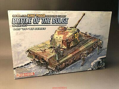 DRAGON 1/35 6254 Sd.Kfz.182 King Tiger Henschel Turret Battle of the Bulge