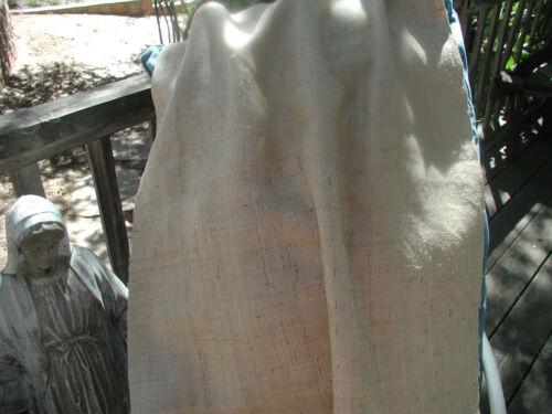 Beautiful Silk Linen Burlap Fabric  High End Natural Jeanne D