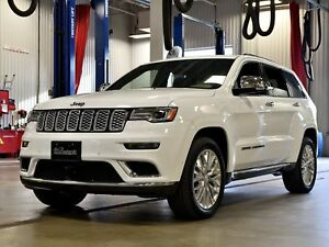 2017 Jeep Grand Cherokee SUMMIT*CUIR BRUN*HITCH 6200LBS*CRUISE A