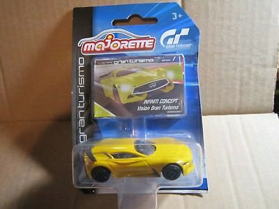 Majorette 212054050 INFINITI CONCEPT Vision Gran Turismo mit Sammlerflyer 1:66