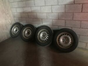 Set of 4 Gislaved Nord Frost 5 Winter Tires with Rim