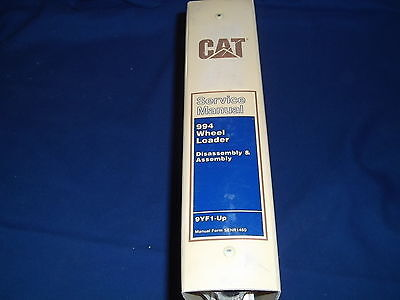 Cat Caterpillar 994 Wheel Loader Disassembly Assembly Service Repair Manual