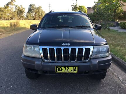 2003 Jeep Grand Cherokee WG Laredo V8 (4x4) Auto 4months Rego Low Kms