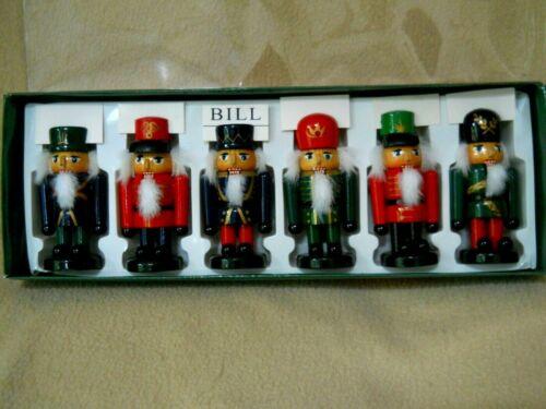 6 Vintage Kurt Adler Santa