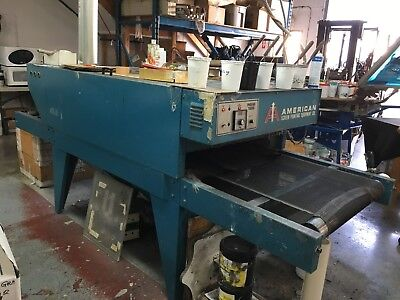 American Screen Printing Equipment 24 Dryer