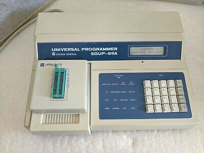 System General Universal Programmer Sgup-85a W Uppld-i 9