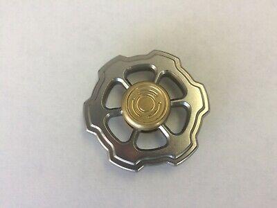 Hand fidget Spinner - Velocity Stainless & brass
