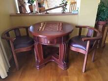 Chess Table and Two Chairs - Price Slashed! Meadow Springs Mandurah Area Preview