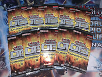 x10 Yu-Gi-Oh SEALED OTS Pack 8 Official Tournament Store Pack Brand New x10