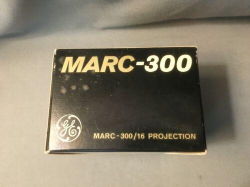 Vtg GE MARC-300/16 EZM 300W 37.5V Hi Intensity Arc Projector Lamp Light NIB