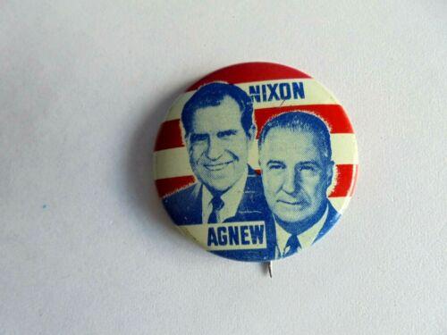 Vintage Nixon - Agnew Political Campaign Pinback Button