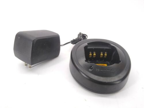 Motorola HTN9000B Radio Charger w/AC adapter For HT1250,750,GP340,MTX850,PRO
