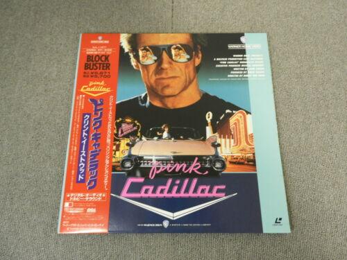 Pink Cadillac - Laser Disc - OBI JAPAN LD 2disc