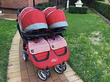 Baby Jogger City Mini Double Pram and Accessories Cooks Hill Newcastle Area Preview