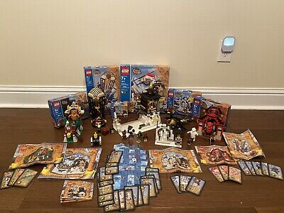 LEGO Orient Expedition 7409, 7411, 7412, 7413, 7415, 7417
