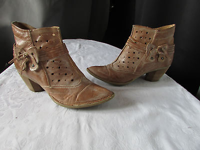 Boots / Boots Khrio Leather Camel 39