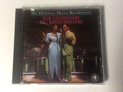 - The Legendary Big Band Singers CD