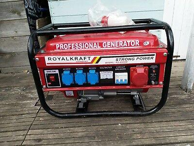 Royalcraft electric Generator Rs 8500w wats