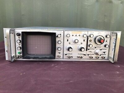 Hewlett Packard Hp 180a Oscilloscope 1801a Amplifier 1821a Generator