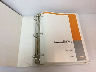 221d Case 221d Tier 2 Compact Wheel Loader  Parts Catalog