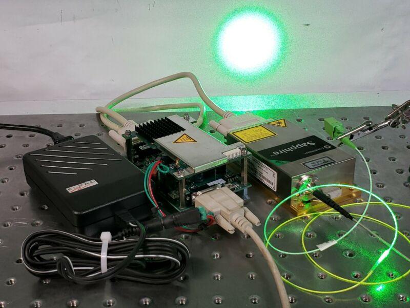Coherent Sapphire LPX 532-300 Laser, 532nm High Power 300mW PM Fiber Coupled