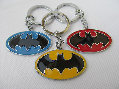 MARVEL SUPERHERO BATMAN DARK KNIGHT ENAMEL KEYRING 4 COLOURS GIFT IDEA UK SELLER](Batman Costume Ideas)