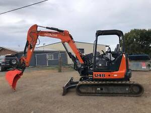 Excavator Hitachi ZX 48-5 Glanmire Gympie Area Preview